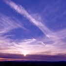Monument Valley and Clouds. sunset2 by StonePics