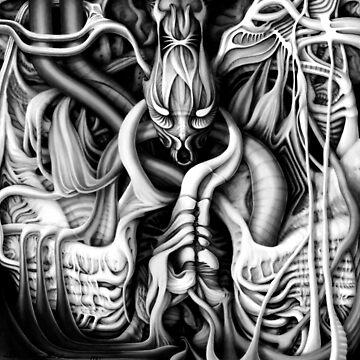 Alien Flesh #1 by sandersart