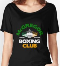 Conor McGregor Boxing Club Women's Relaxed Fit T-Shirt