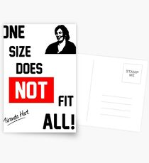One Size Does NOT Fit All - Miranda Hart [Unofficial] Postcards