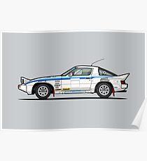 Mazda RX7 Evo Group B Poster