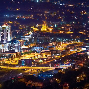 Downtown Roanoke by ethancandy