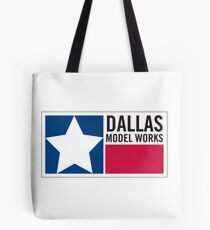 Dallas Model Works logo Tote Bag