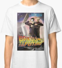 Bakula to the Future Classic T-Shirt