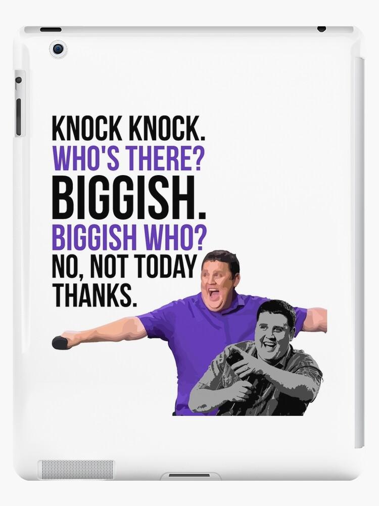 'Peter Kay - The Tour That Didn't Tour Tour - Knock Knock Joke' iPad  Case/Skin by 4ogo Design