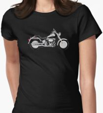 Harley Davidson Fatboy Women's Fitted T-Shirt