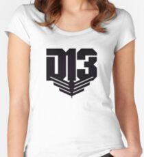 The Hunger Games - District 13 Women's Fitted Scoop T-Shirt
