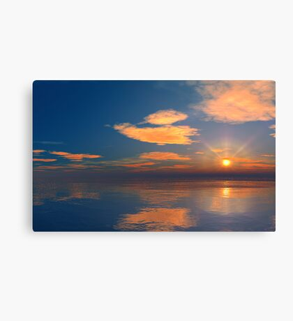 Gulf Sunset Canvas Print
