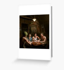 WWII - The card game 1943 Greeting Card