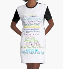 Princess songs Graphic T-Shirt Dress
