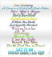 Princess songs Poster