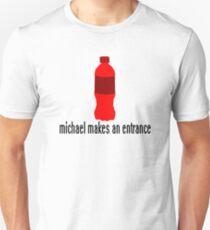 Michael makes an entrance! Unisex T-Shirt