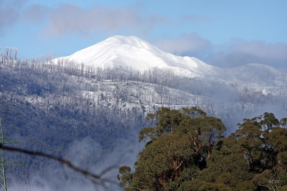 7Mt Feathertop by scar