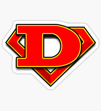 D Power Symbol Sticker