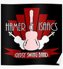 Hamer & Isaacs Logo Design Poster