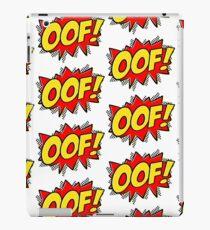 OOF! - Action Comic iPad Case/Skin