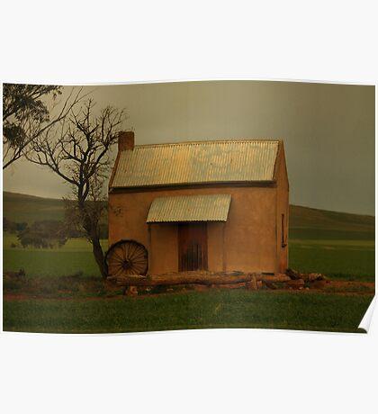 Quaint Cottage Poster