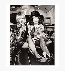 Patsy and Eddie Sweetie Darling Photographic Print