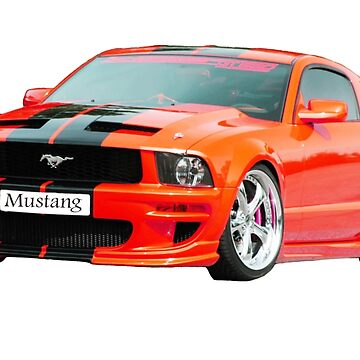 Ford Mustang by 1StopPrints