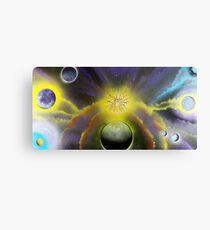 Starfire Galaxy Metal Print
