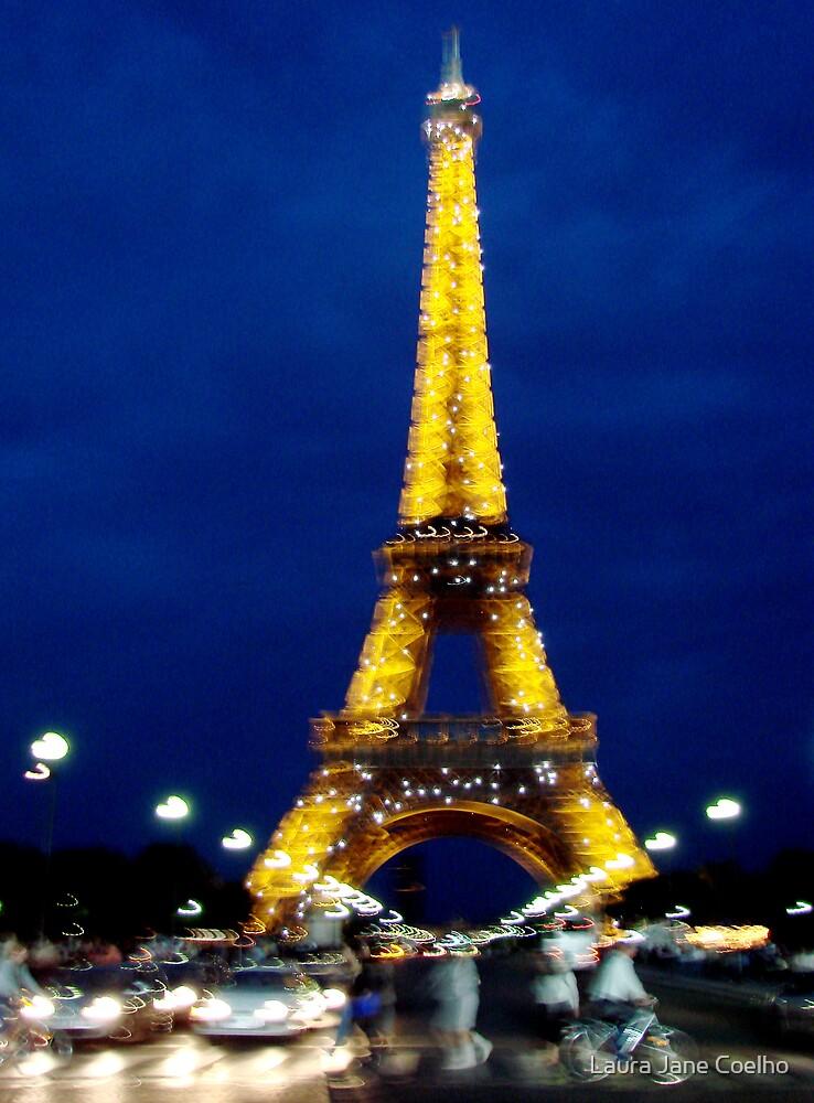 La Tour Eiffel by Laura Jane Coelho