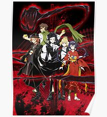 Bungou Stray Dogs 2/3 Poster