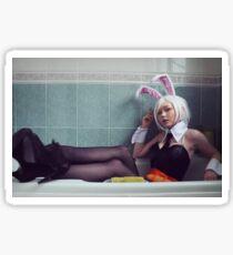Battle Bunny Riven Cosplay Sticker