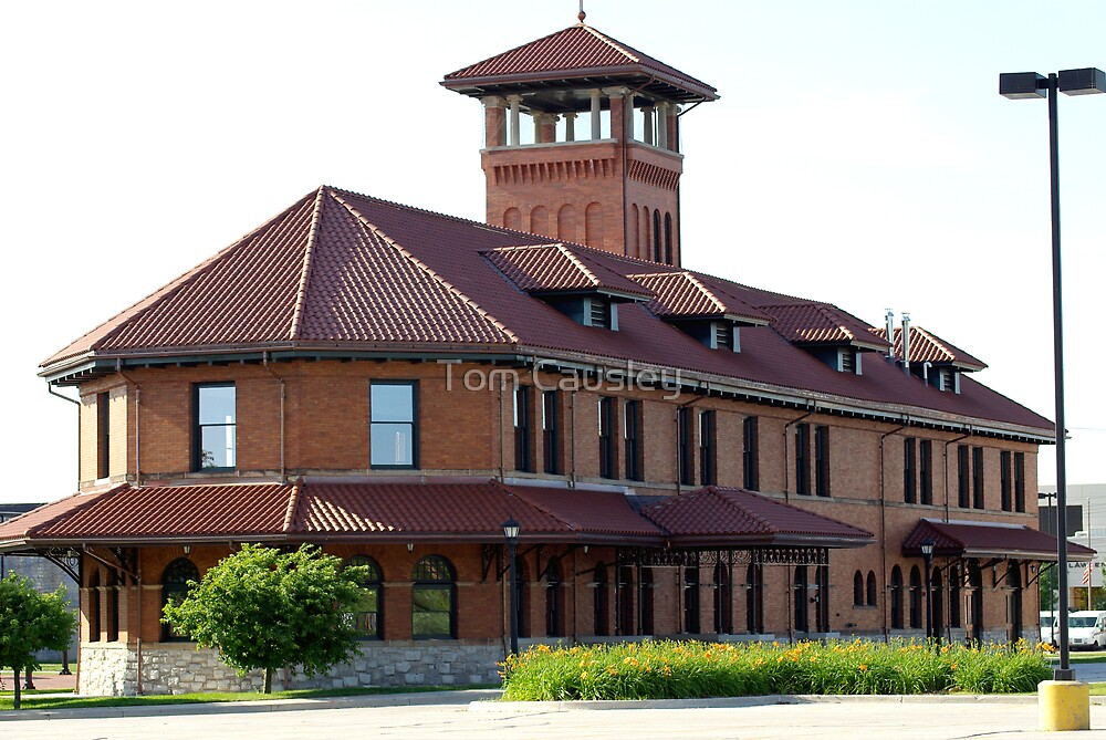 The Pere Marquette Rail Station by Tom Causley