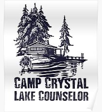 Camp Crystal Lake Counselor Poster