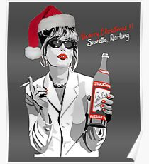 What Would Patsy Do? Merry Christmas.. Sweetie, Darling Poster