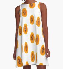 Papaya A-Linien Kleid