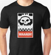 Ork Waaagh! Wargaming Meme Slim Fit T-Shirt