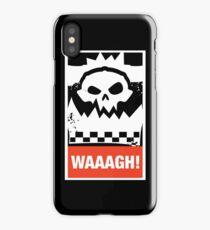 Warhammer 40k Inspired - Ork Waaagh! iPhone Case/Skin