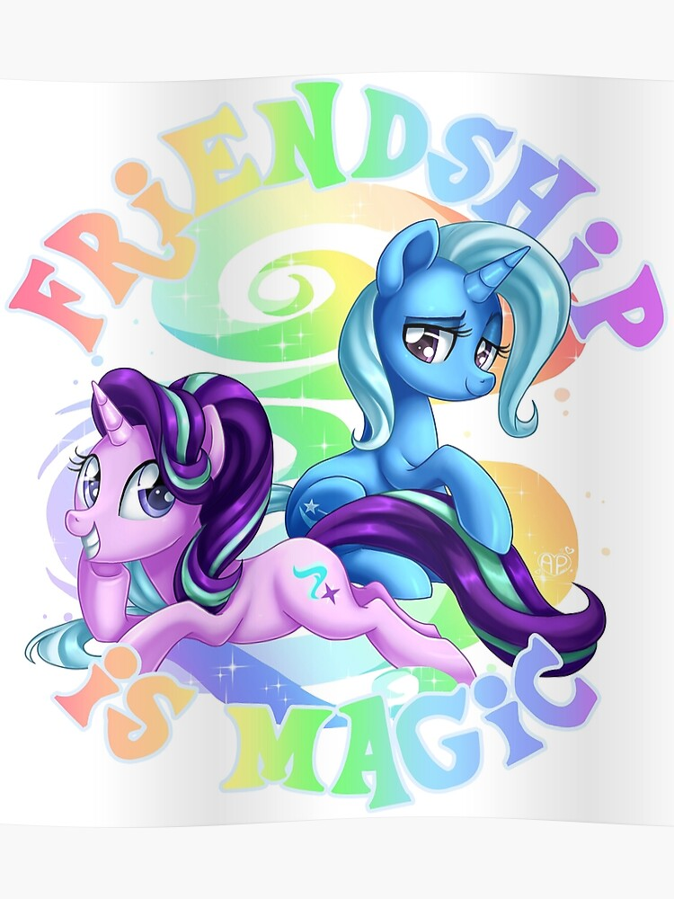 The Magic Of Friendship Trixie Starlight Glimmer My Little Pony