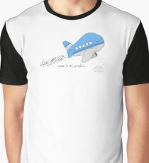 Music is my aero-plane Graphic T-Shirt