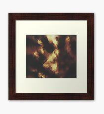Golden Brown Framed Print