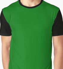 Christmas Holly and Ivy Green Velvet Color Graphic T-Shirt