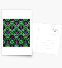 Overlook Hotel Carpet from The Shining: Purple/Green Postcards