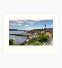 Plymouth Hoe, Devon Art Print