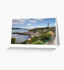 Plymouth Hoe, Devon Greeting Card