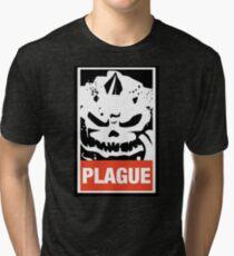 Warhammer 40k Inspired Plague Lord Nurgle Tri-blend T-Shirt