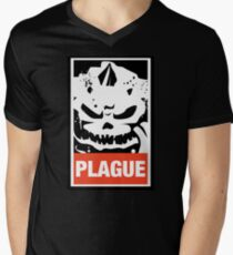 Warhammer 40k Inspired Plague Lord Nurgle Men's V-Neck T-Shirt