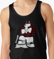 Lumberjack Bear Men's Tank Top