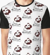 Lumberjack Bear Graphic T-Shirt