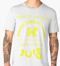Chinese New Year of The Dog gong xi fa cai Men's Premium T-Shirt