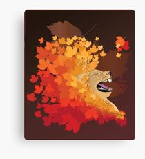 The Fall of Lions Canvas Print
