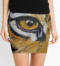 Tiger Eye Mini Skirt