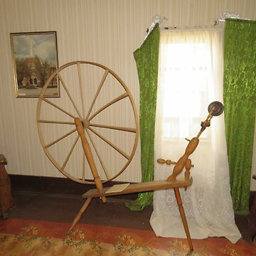 There's An Old Spinning Wheel In The Parlor by MaeBelle