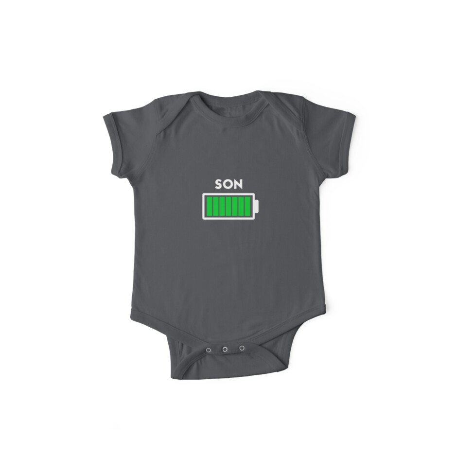 Father Son Battery Shirt Dad Son Battery Shirt Kids Clothes By Voteforgreg