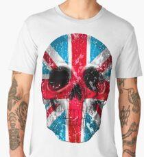 London Skull Flag Men's Premium T-Shirt